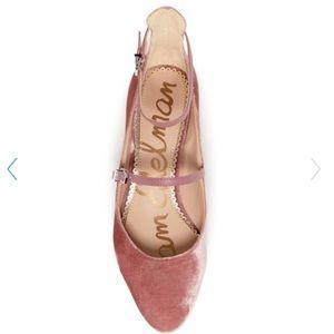 79311038f189 Sam Edelman Shoes - Sam Edelman Lulie Velvet Ankle Strap Pump NWT